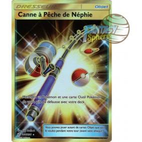 Canne à Pâche de Néphie - Secret Rare 266/236 - Soleil et Lune 12 Éclipse Cosmique