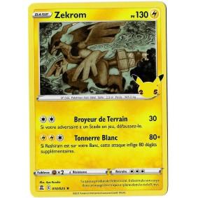 Zekrom - Holo Rare 010/025...