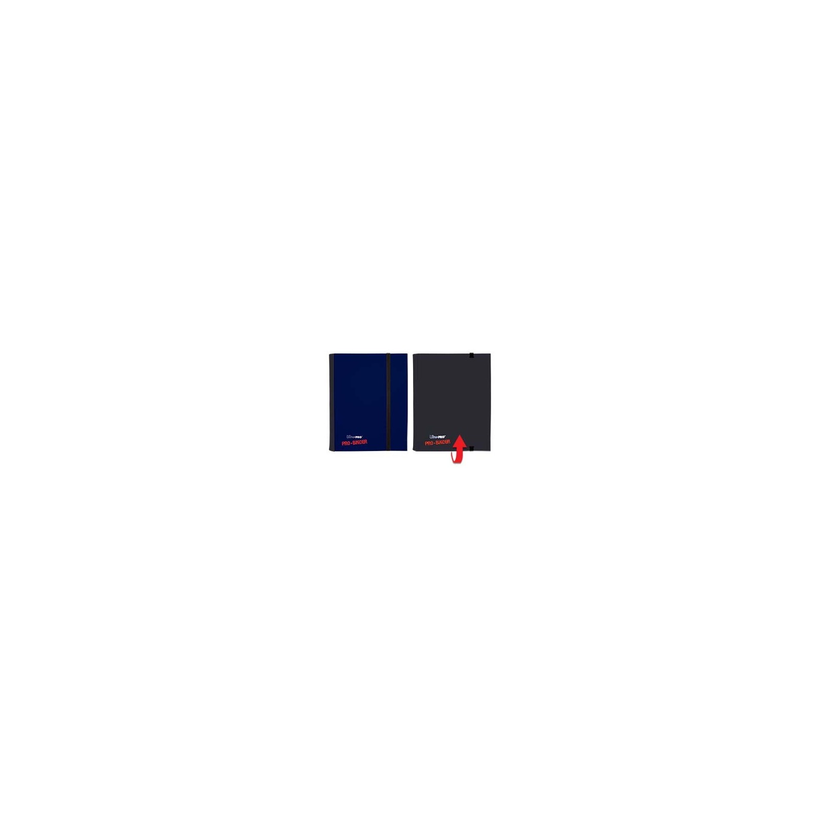 Pro Binder 4 Cases Noir-Bleu