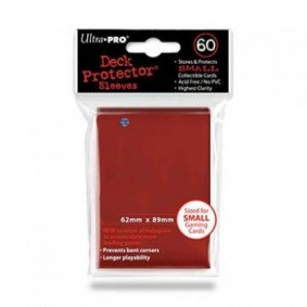 Proteges Cartes - Small Rouge (60)