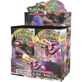 Pokémon - Display - Boite de 36 Boosters - Clash des Rebelles [EB02] - FR
