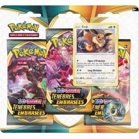 Pokémon Épée et Bouclier EB03- Ténèbres Embrasées - Pack 3 boosters