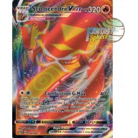 Scolocendre Vmax - 34/189 EB03 Ténèbres Embrasées Carte à l'unité Pokemon