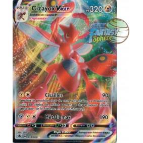 Cizayox Vmax - 119/189 EB03 Ténèbres Embrasées Carte à l'unité Pokemon