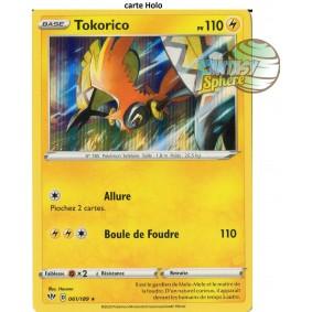 Tokorico - 61/189 EB03 Ténèbres Embrasées Carte à l'unité Pokemon