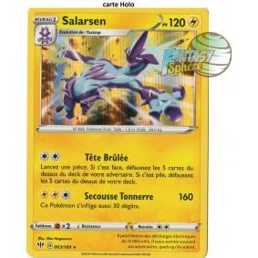 Salarsen - 63/189 EB03 Ténèbres Embrasées Carte à l'unité Pokemon