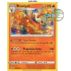 Braségali - 24/189 EB03 Ténèbres Embrasées Carte à l'unité Pokemon