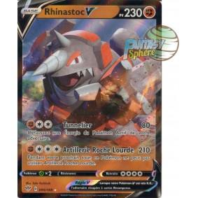 Rhinastoc V - 95/189 EB03 Ténèbres Embrasées Carte à l'unité Pokemon