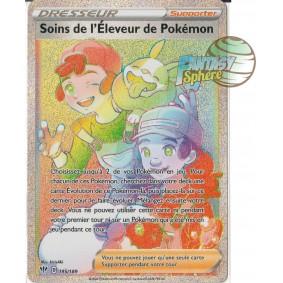 Soins de l'Eleveur de Pokémon - 195/189 EB03 Ténèbres Embrasées Carte à l'unité Pokemon