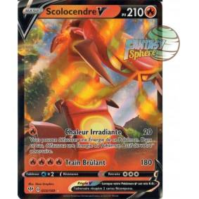 Scolocendre V - 33/189 EB03 Ténèbres Embrasées Carte à l'unité Pokemon
