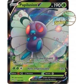 Papilusion V - 1/189 EB03 Ténèbres Embrasées Carte à l'unité Pokemon