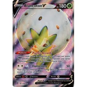 Blancoton V - Full Art Ultra Rare 176/192 EB02 Clash des Rebelles Carte à l'unité Pokemon