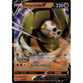 Dunaconda V - Ultra Rare 108/192 EB02 Clash des Rebelles Carte à l'unité Pokemon
