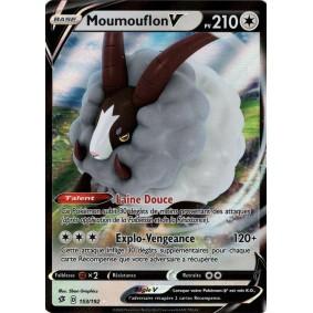 Moumouflon V - Ultra Rare 153/192 EB02 Clash des Rebelles Carte à l'unité Pokemon