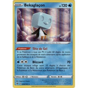 Bekaglaçon - Reverse 054/192 EB02 Clash des Rebelles Carte à l'unité Pokemon