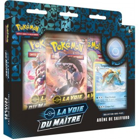 Pokémon Coffret Pin's Arène de Skifford La Voie du Maître EB 3.5 FR