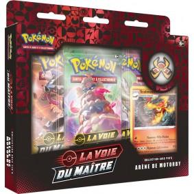 Pokémon Coffret Pin's Arène de Motorby La Voie du Maître EB 3.5 FR