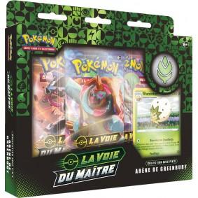 Pokémon Coffret Pin's Arène de Greenbury La Voie du Maître EB 3.5 FR