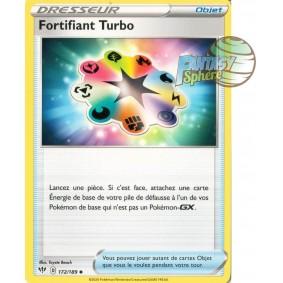 Fortifiant Turbo - Peu Commune 172/189 EB02 Clash des Rebelles Carte à l'unité Pokemon
