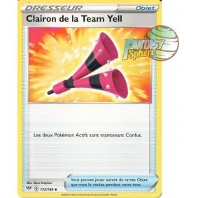 Clairon de la Team Yell - Peu Commune 173/189 EB02 Clash des Rebelles Carte à l'unité Pokemon