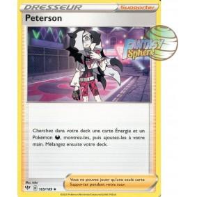 Peterson - Peu Commune 165/189 EB02 Clash des Rebelles Carte à l'unité Pokemon