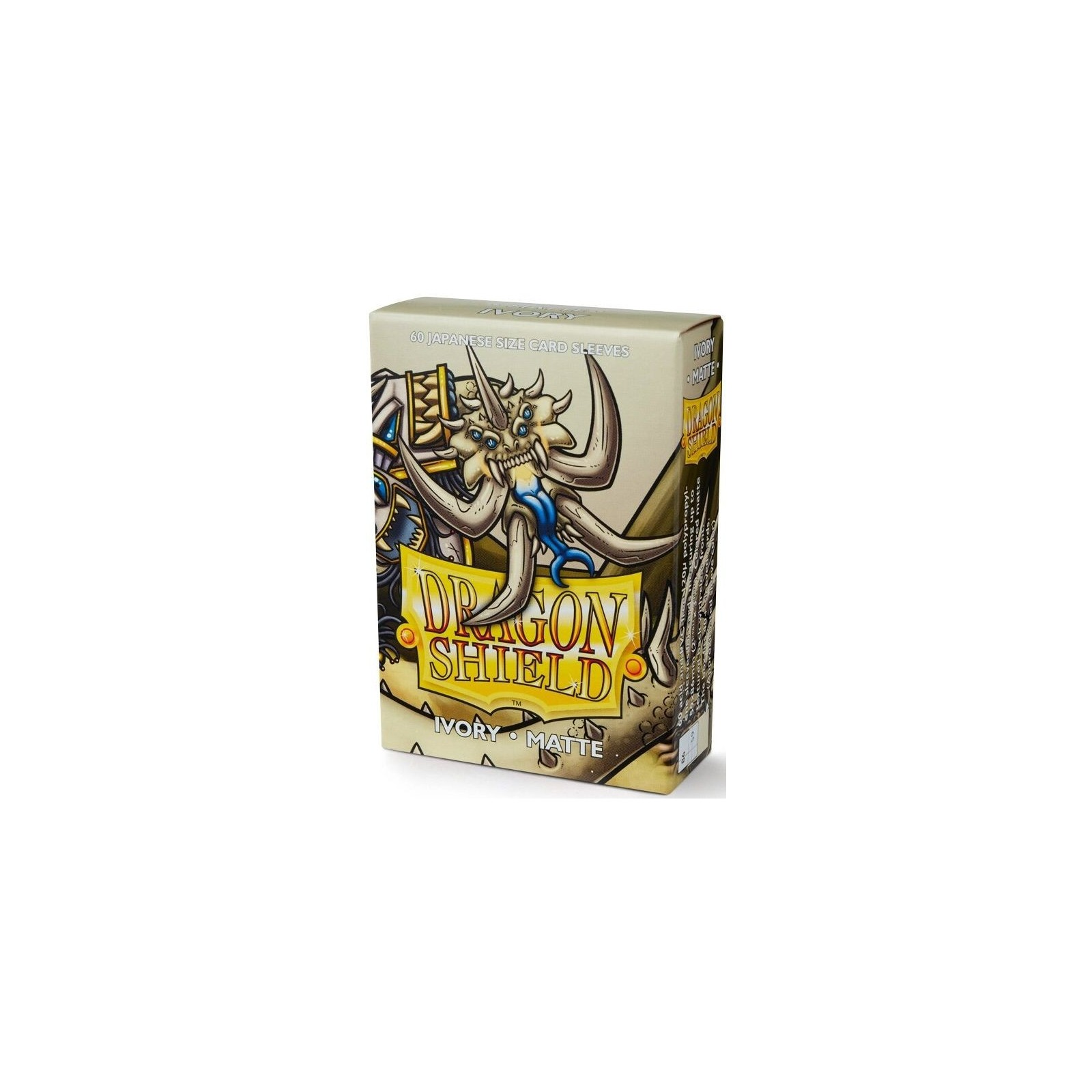Dragon Shield Small Sleeves - Matte Ivory (60)