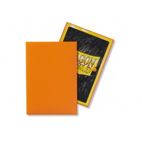 Dragon Shield Small Sleeves - Matte Orange (60)