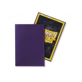 Dragon Shield Small Sleeves - Matte Purple (60)