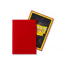 Dragon Shield Small Sleeves - Matte Crimson (60)
